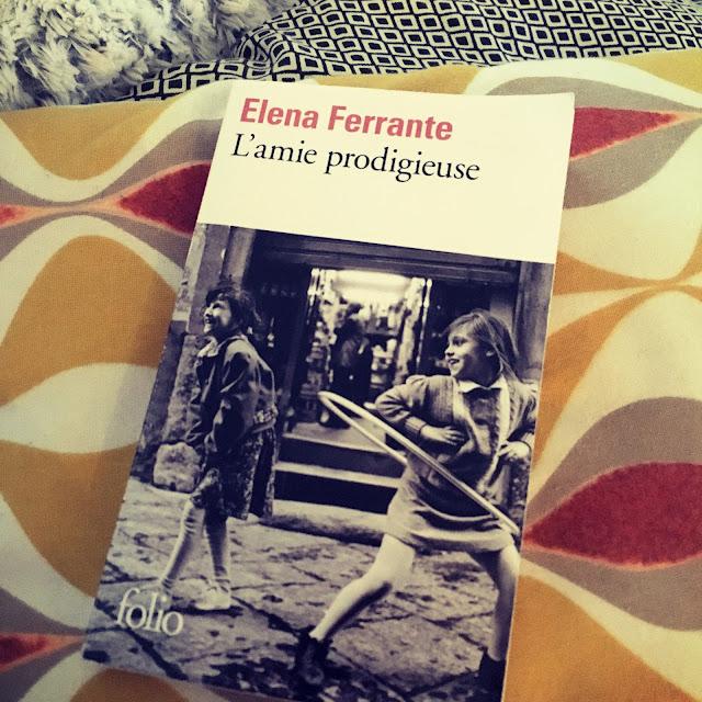 Chronique littéraire L'amie prodigieuse par Mally's Books