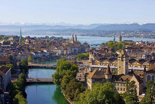 Zúrich en Suiza