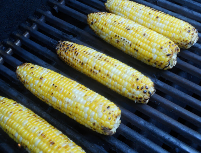Grilling Corn-on-the-Cob