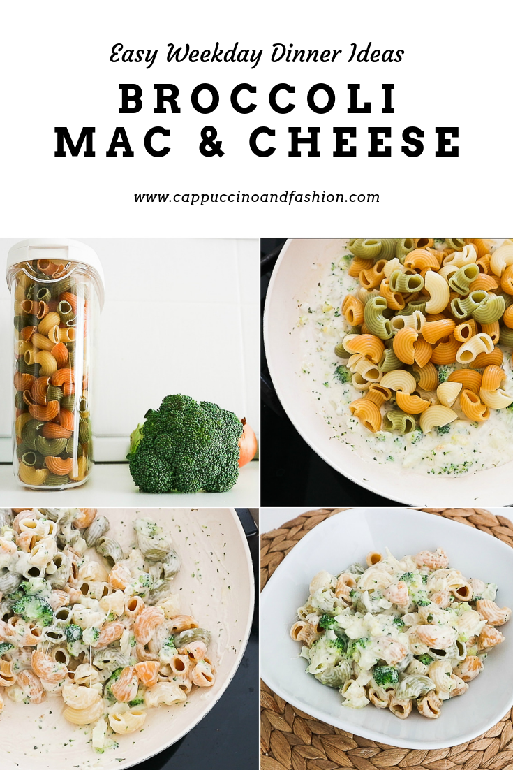 easy weekday dinner ideas broccoli mac and cheese
