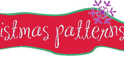 Christmas surface patterns designs.