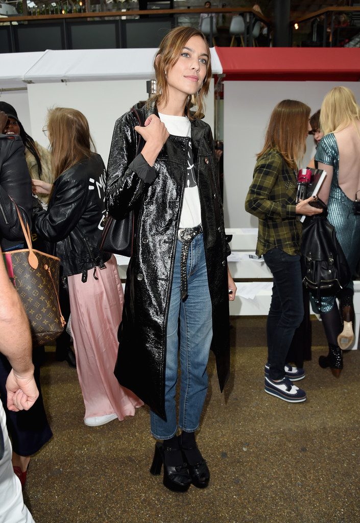 Alexa Chung's London Fashion Week Style