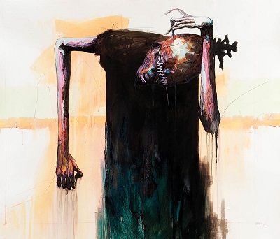 by Boniface Maina - 'Regression Graph', 2016