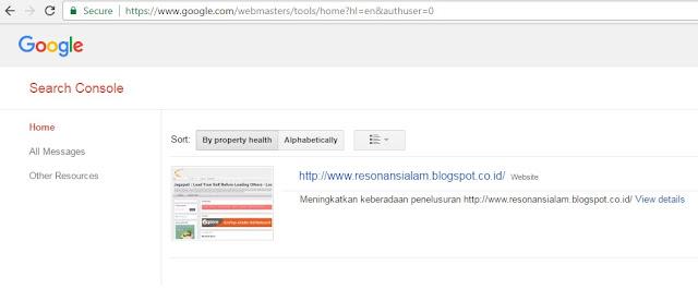 BLOG Anda di WEBMASTER