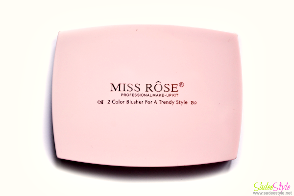 Miss Rose Duo Blusher Compact