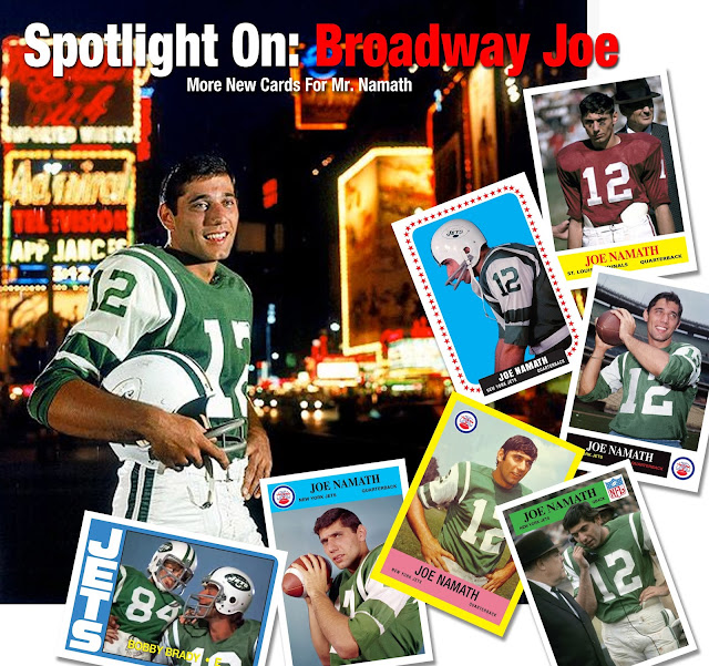 Topps, Philadelphia Gum Cards, Brady Bunch, Bobby meets Broadway Joe