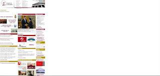 web del congreso en su versión actual