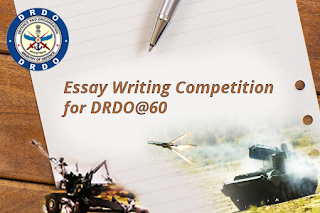 drdo essay writing competition win cash prizes stuff  drdo is achieving a historical feat in 2018 the year will be marked by diamond jubilee of drdo celebrating 60th years of its journey in the service of the