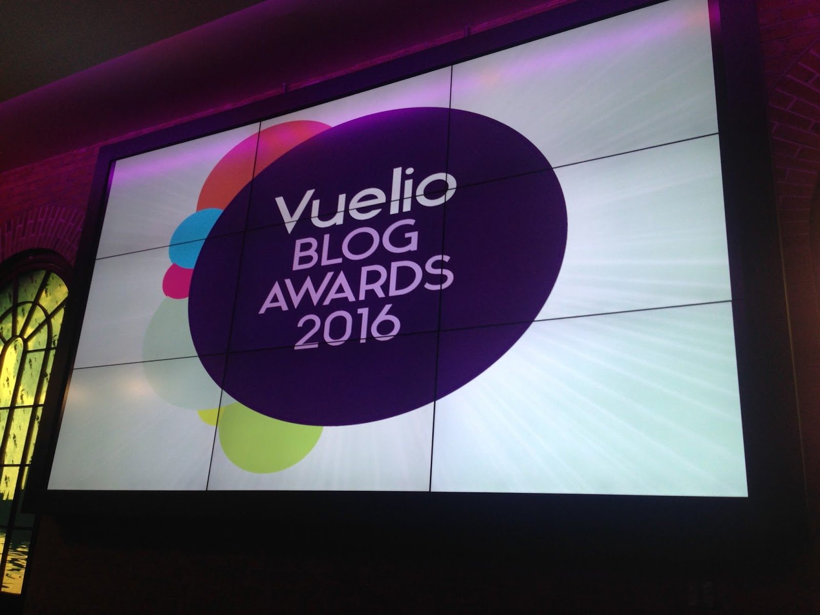 Vuelio blog awards 2016