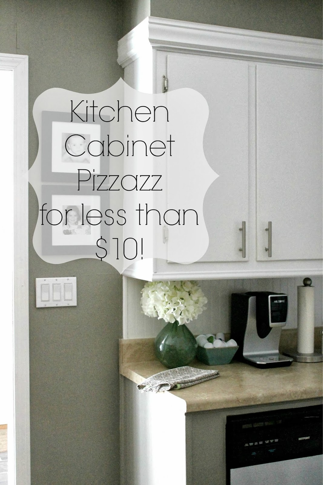 Grace Lee Cottage: Add pizzazz to your kitchen cabinets for ...