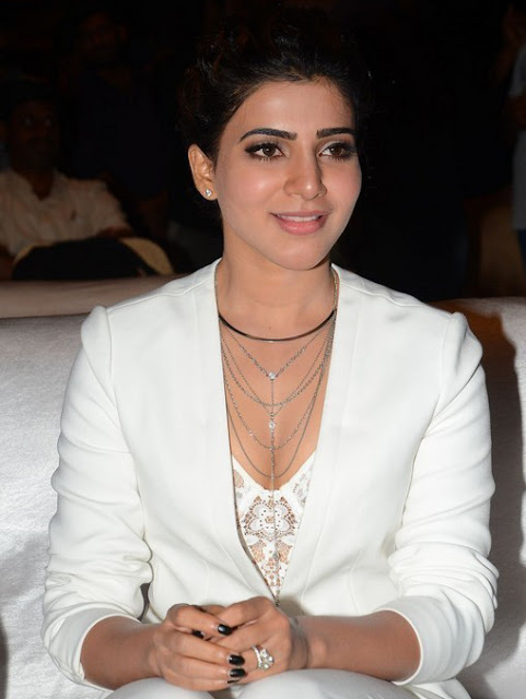 Samantha at Janatha garage Thanks meet photos