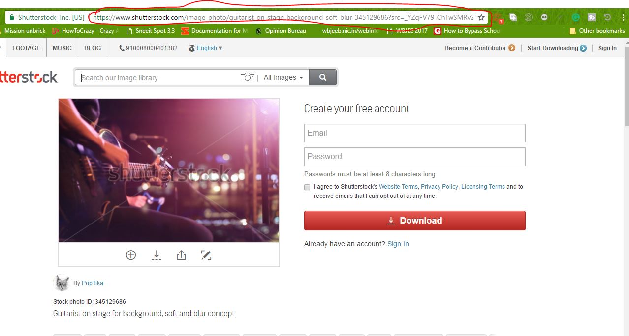 How to download Shutterstock images without watermark | RyberSoft