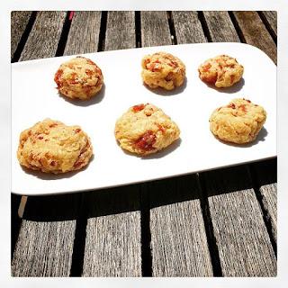 Cookies salés au jambon et comté idéal pour vos apéros !