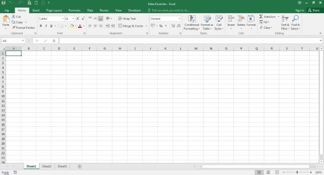 Microsoft Excel 2016 (v16.0)
