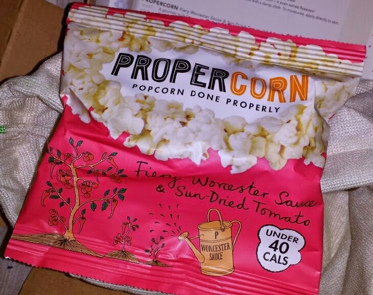 Birchbox April 2014 - Propercorn