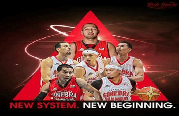 Barangay Ginebra Triangle Offense