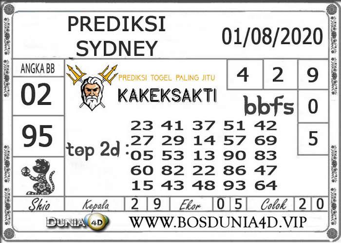Kode syair Sydney Sabtu 1 Agustus 2020 91