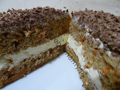 Ciasto marchewkowe z masą