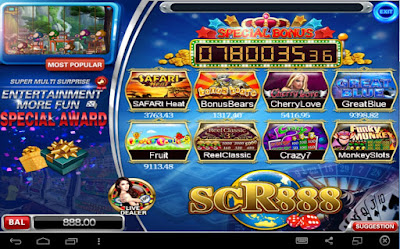 Relax with slot game Thunderbolt Monkey in SCR888 casino