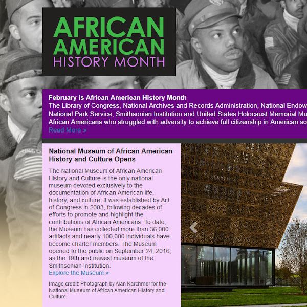 February--African American History Month