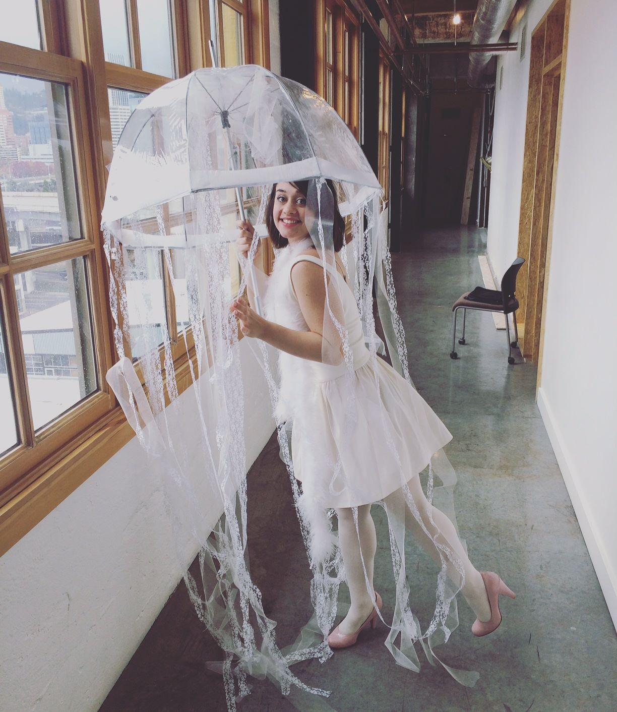 DIY Jellyfish Costume & LINDSTYLEFILES: How to Make a Jellyfish Costume in 6 Steps