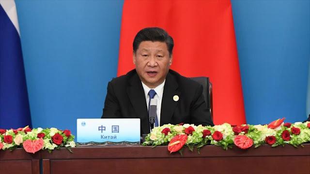 """Presidente chino rechaza políticas comerciales """"egoístas"""" de EEUU"""