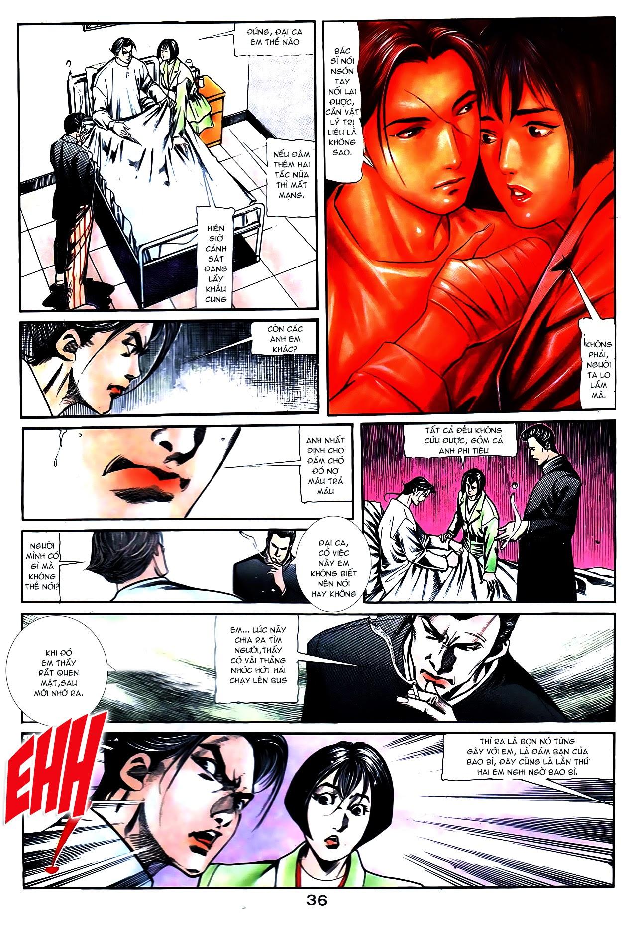 Người Trong Giang Hồ chapter 108: phong vũ cố nhân lai trang 11