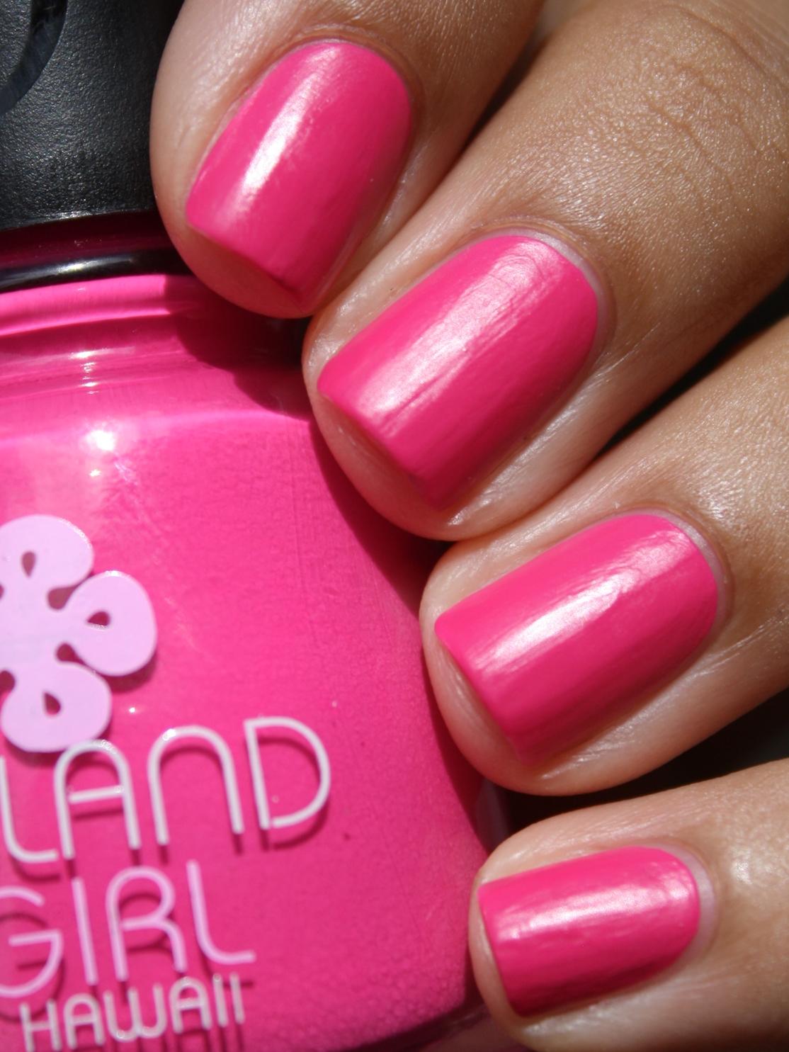 Mommy Needs A Manicure Stat.: Island Girl Nail Polish: My