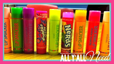 Behavior Management in Speech/Language Therapy - Scented lip gloss rewards are a hit with our students. Just draw on hands, not lips! They are cheap, simple and motivating. Kids love to pick these rewards!