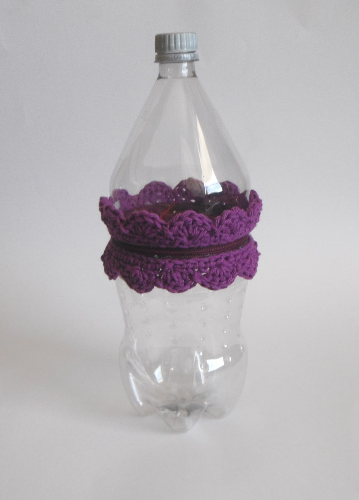 Crochet Dynamite: Recycled Yarn Holder