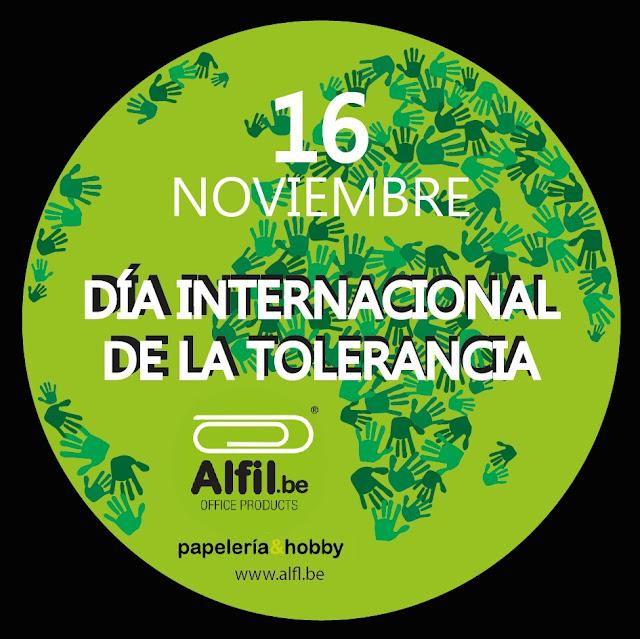 16 de Noviembre Día Internacional de la Tolerancia