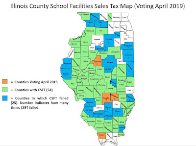 Illinois School Board News Blog: Four counties set to vote