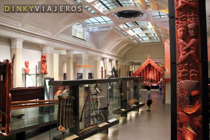 Auckland Museum. Maori court