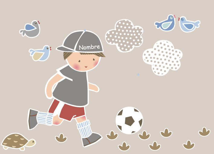 Vinilos infantiles personalizados for Vinilos infantiles nino