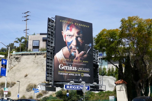 Genius Picasso season 2 billboard