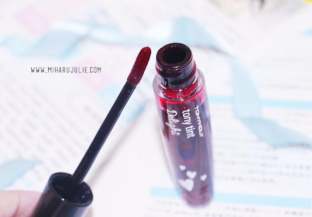 Review Tony Moly Tony Tint Delight #1 Cherry Pink
