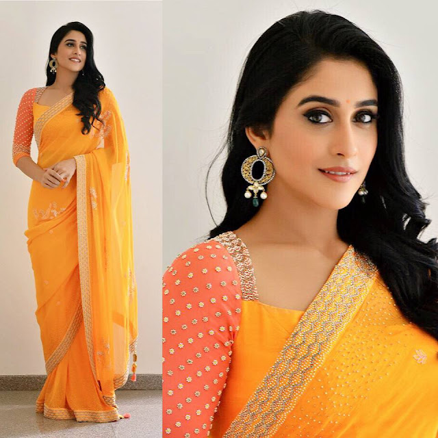 Regina Cassandra Saree Photo Stills