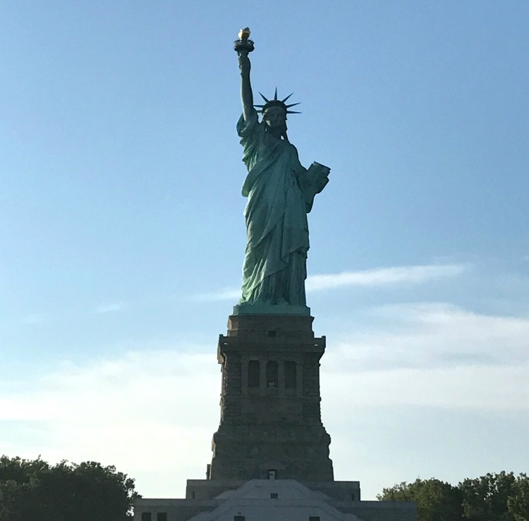 Statue of Liberty in New York Harbor | Ms. Toody Goo Shoes
