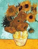 Ван Гог. Ваза с двенадцатью подсолнухами. Арль, август 1888. Холст, масло, 91х72.