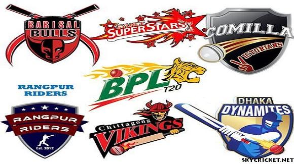 Bangladesh Premier League Teams 2016