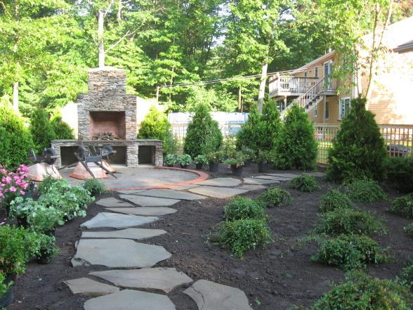 Small backyard design ideas modern home design ideas - Backyard ideas without grass ...