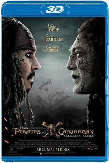 Piratas del Caribe: La venganza de Salazar (2017) 3D SBS Latino