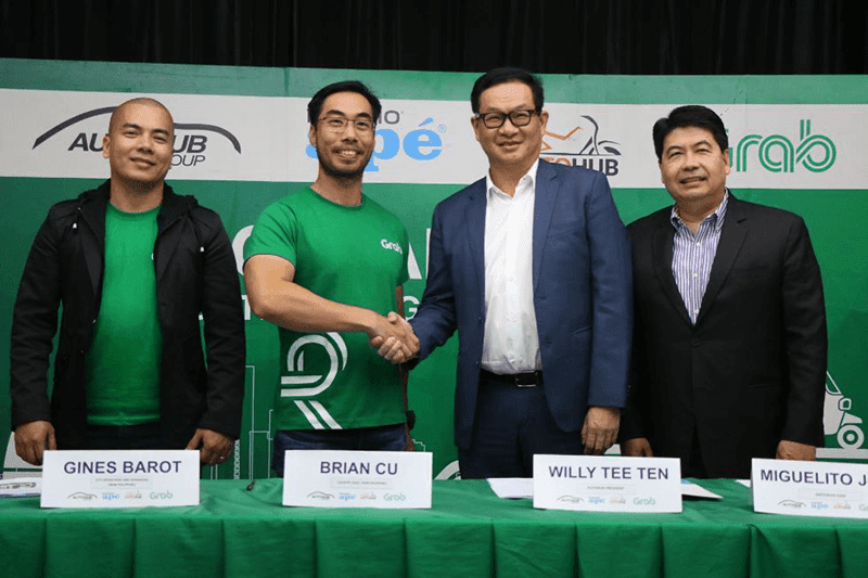 Grab PH and AutoItalia PH partner up for GrabTrike Premium