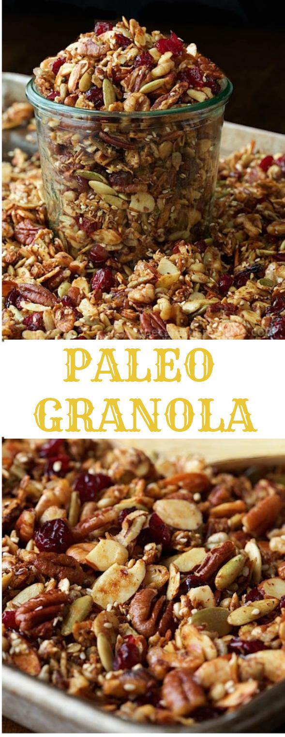 Paleo Granola #diet #paleo