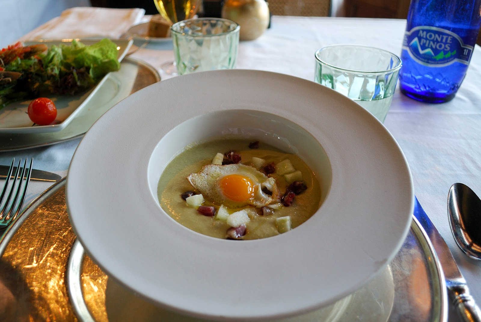 parador toledo spain hotel luxury restaurant vantage point restaurant food menu