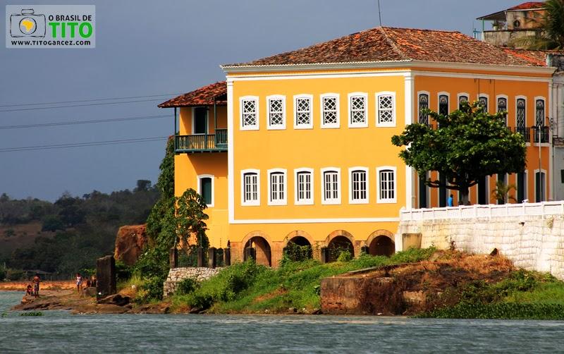 Paço Imperial e Rio São Francisco em Penedo, Alagoas