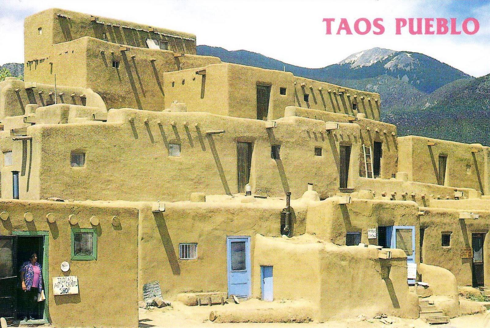 Taos Pueblo In New Mexico, USA Stock Image - Image of ...  |Taos Pueblo New Mexico Usa