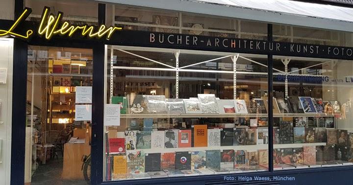 Werner kunstbuchhandlung muenchen foto helga waess