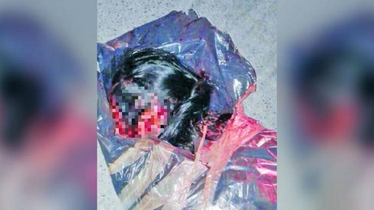 Hallan cuerpo de mujer ejecutada y embolsada en el Estado de México.