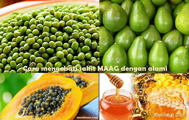 Cara mengobati sakit Maag dengan cepat menggunakan buah dan sayur alami